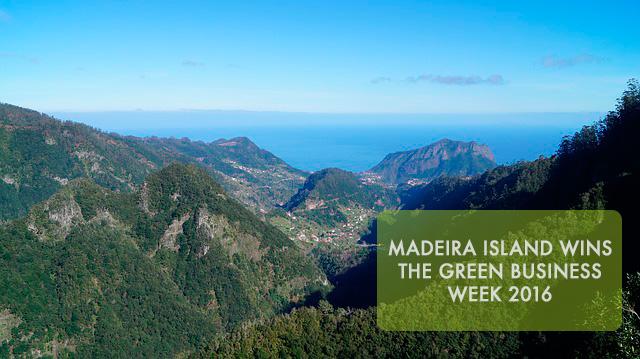 Madeira island wins the green business week